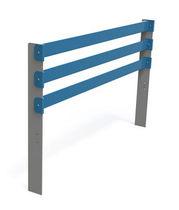 Barrera de protección / fija / de metal / para espacio público