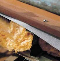 Barrera de vapor mural / de revestimiento / para tejado