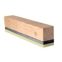 Aislante acústico / de lana de madera / para forjado / de pared