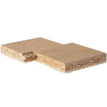Panel acústico de suelo / para techo / de aglomerado / autoportante