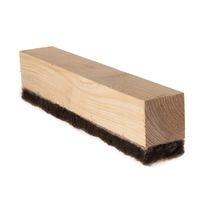 Aislante acústico / de lana de madera / tipo panel