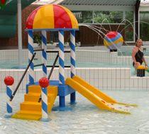 Torre de juegos para infantil para piscina pública