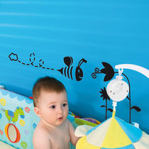 adhesivo de pared infantil (chico) LITLLE BEE 	 Paristic