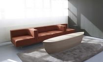 banco moderno de madera maciza ARC by Bertjan Pot Arco Contemporary Furniture
