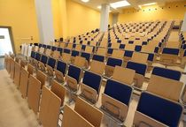 butaca de auditorio con mesita COLLEGE Forum Seating