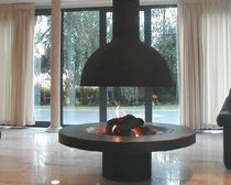 chimenea central moderna (hogar abierto a gas) 83-123G DON-BAR