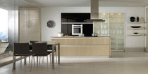 cocina moderna laminada / vidrio SIENA WOOD xey