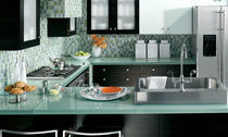 cocina moderna laminada / vidrio BENTWOOD CUSTOM bentwood Luxury Kitchens