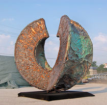 escultura para espacios p&uacute;blicos OCULUS by Reilly Hoffman Zahner