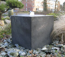 fuente de jard&iacute;n de zinc ZINK-ART QUADER Slink - Ideen mit Wasser