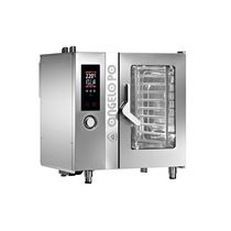 horno a gas mixto para uso profesional FX101G3 Angelo Po Grandi Cucine