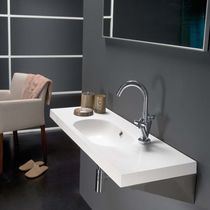 lavabo de pared de resina ICE The Bath Collection