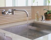 lavabo empotrado de acero inoxidable  Diamond Spas