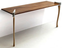 mesa consola de diseño original WOODSMAN AXE by Chris Duffy Duffy London