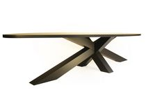 mesa de madera moderna CROSSTABLE 4-BEAM by G.der.Kinderen ZinX