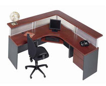 mostrador de recepción laminado  Office Furniture Group
