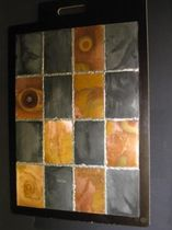 panel de pared decorativo de metal PATCHOWRK Dezinc