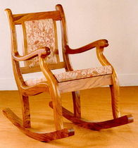 silla mecedora tradicional  Andrews Wood Crafts