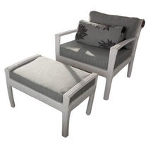 sillón de jardín moderno con reposapiés TF 0813 Nature Corners Co.,Ltd.