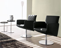 sillón giratorio moderno WAIT by S.T.C. Calligaris Italian home design since 1923