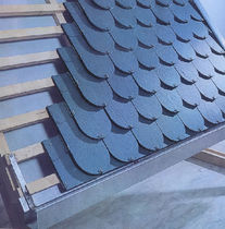 "teja de pizarra natural ""SCALE"" RO ""SHIELD"" ROOFING euroslate"
