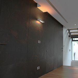 de pared de pizarra para uso residencial mate texturado