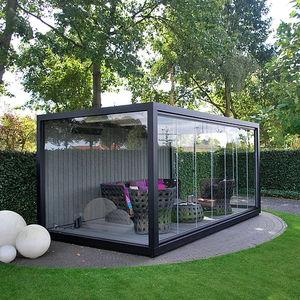Cobertizo Para Jardin De Vidrio Todos Los Fabricantes De La - Cobertizo-para-jardin