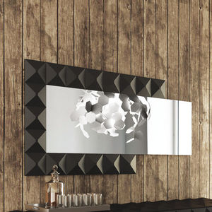 espejo de pared de diseo original rectangular para habitacin de hotel