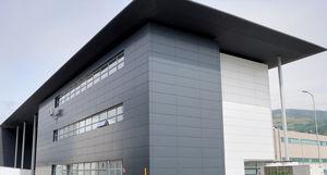 de fachada de material compuesto liso de panel para fachada ventilada