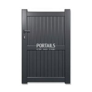 puerta para jardn de hierro