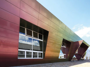 panel de de metal para fachada