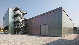 panel de de aluminio para fachada