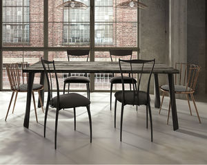 Mesa de comedor de hierro - Todos los fabricantes de la arquitectura ...
