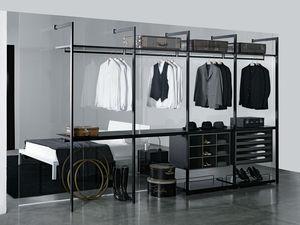 vestidor moderno de madera a medida de calidad superior