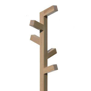 perchero de pie moderno de madera