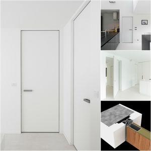 marco para puerta de aluminio