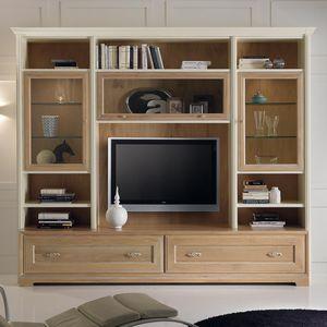mueble de televisin de estilo moderno de madera