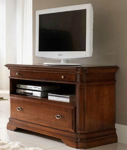 mueble de televisin clsico de madera - Muebles De Television