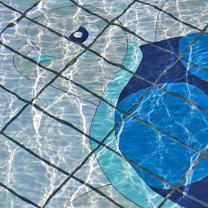baldosa para piscina para pavimento de gres porcelnico con motivos animales