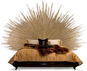 cabecero para cama doble de diseo original de madera