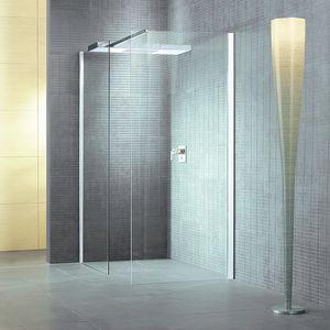 ducha de obra de vidrio de esquina