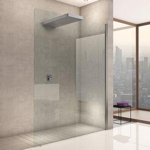 ducha de obra de vidrio para ducha empotrada - Duchas De Obra