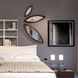 espejo de pared de diseo original de madera
