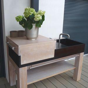 mueble para fregadero para jardn