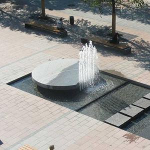 Fuente de piedra natural Todos los fabricantes de la arquitectura