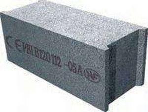 bloque de hormign macizo para muro de carga