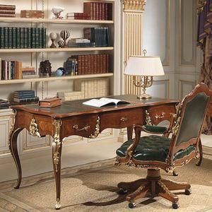 escritorio de madera de estilo luis xv