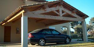 tijeral de madera macizo para cubierta de