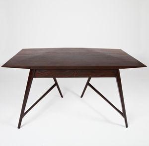escritorio de madera maciza de wengu de diseo escandinavo