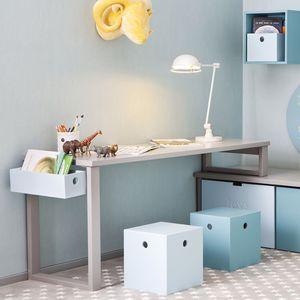 escritorio de madera moderno para nios